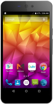 Micromax Canvas Selfie Lens Q345 Dual Sim (Moon dust grey, 8 GB)(1 GB RAM)