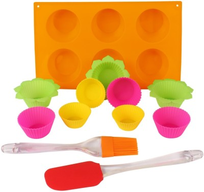 Hua You 15 - Cup Cupcake/Muffin Mould(Pack of 12) at flipkart