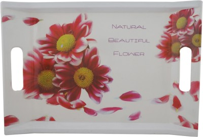 Magic's Max Flower Printed Serving Tray at flipkart