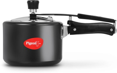 Pigeon Titanium 3 L Pressure Cooker with Induction Bottom(Hard Anodized)