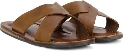 ALDO Men Cognac Sandals at flipkart