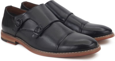 Call It Spring Monk Strap(Black) at flipkart