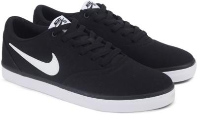 Nike SB CHECK SOLAR CNVS SS 19 Sneakers For Men(Black) 1