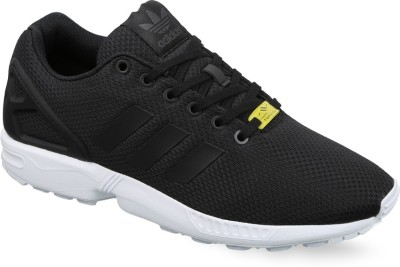 Adidas Originals ZX FLUX Sneakers(Black, White) at flipkart