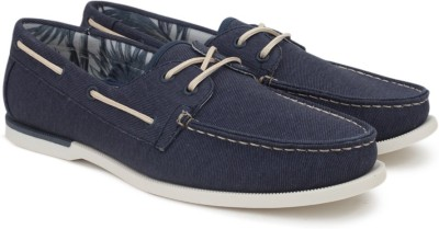 Call It Spring Boat Shoes For Men(Navy) at flipkart
