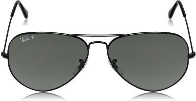 Ray-Ban Aviator Sunglasses(Grey) at flipkart