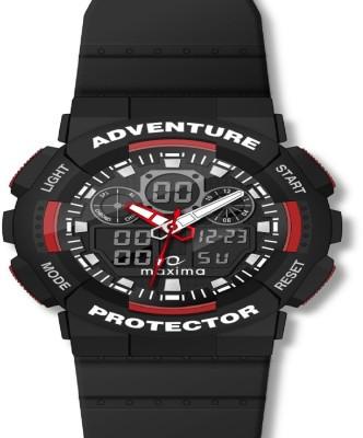 Maxima 32821PPAN Alarm Chronograph Analog-Digital Watch For Boys