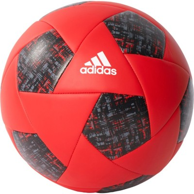 ADIDAS X Glider Football - Size: 5(Pack of 1, Red, White, Black)