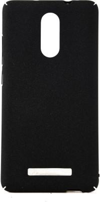 The Little Shop Back Cover for Mi Redmi Note 3(Black, Plastic) Flipkart