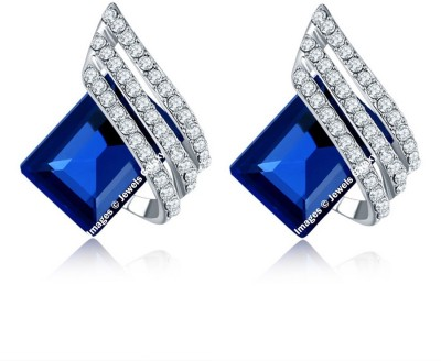 Jewels Galaxy Luxuria Crystal Alloy Clip-on Earring at flipkart