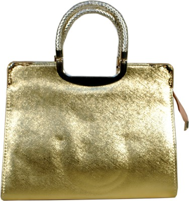 Prezia Hand-held Bag(Gold)