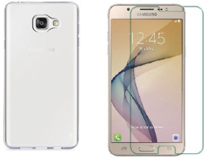 Bodoma Cover Accessory Combo for Samsung galaxy J7prime Transparent