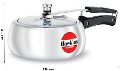 Hawkins Contura 3.5 L Pressure Cooker(Aluminium)  available at flipkart for Rs.1385