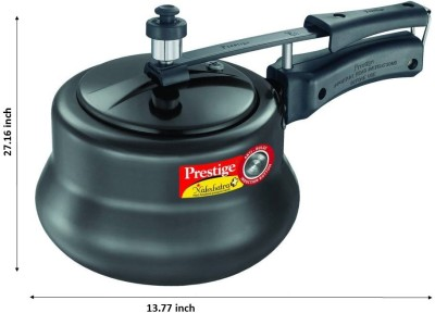 Prestige-Nakshatra-Plus-HA-Handi-Aluminium-3-L-Pressure-Cooker-(Induction-Bottom,-Inner-Lid)