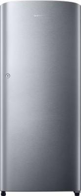 Samsung 192 L Direct Cool Single Door Refrigerator(RR19K211ZSE, Elective Silver)