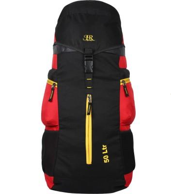 J R Bags Ranger 50 Liters Top Load Rucksack   50 L Red J R Bags Rucksacks