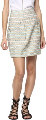 Rare Printed Women Regular Multicolor Skirt