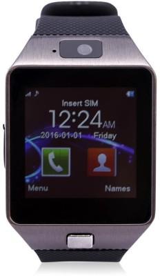 I KALL Bluetooth Calling , 32 GB MEMORY CARD SLOT, SIM SLOT and FITNESS TRACKER Smartwatch Smartwatch(Black Strap) at flipkart