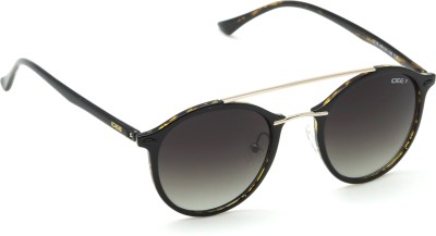 IDEE Round Sunglasses(Black)