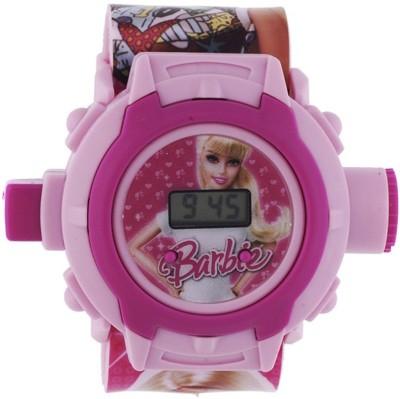 Shanti Enterprises Barbie 24 Images Projector Watch Digital Watch   For Girls Shanti Enterprises Wrist Watches