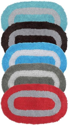 Tex Fab Living Cotton Bathroom Mat(Multicolor, Medium) at flipkart