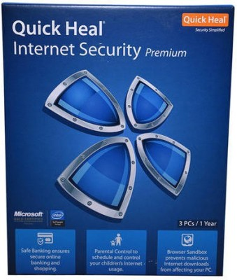 Quick heal INTERNET SECURITY 3USER 1YEAR