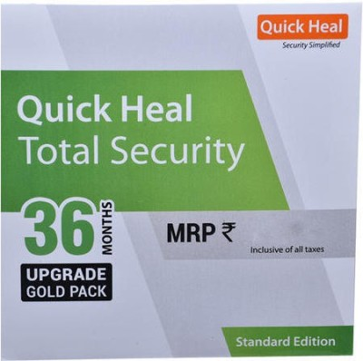 Quick Heal Total Security 1.0 User 3 Years(CD/DVD)