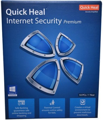 Quick heal INTERNET SECURITY 10USER 1YEAR