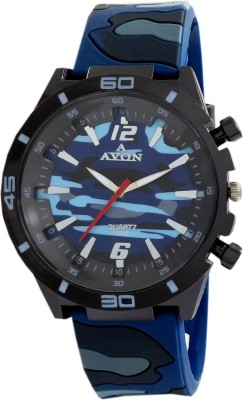 A Avon PK_756 Army Color Analog Watch For Boys