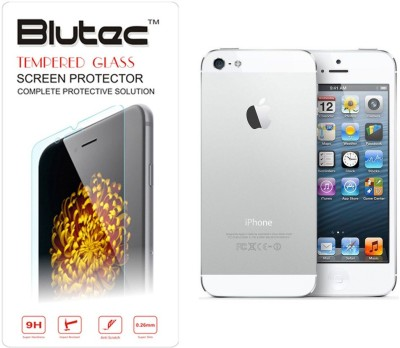 Blutec Front and Back Screen Guard for Apple iPhone 4(Pack of 2)