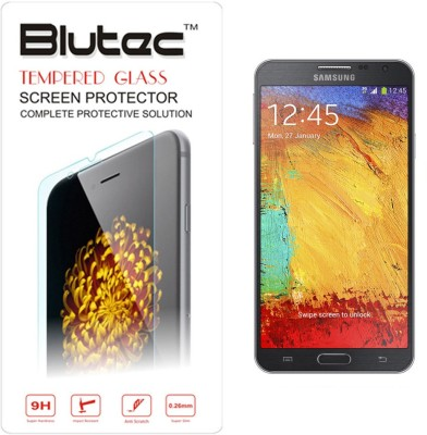 Blutec Tempered Glass Guard for Samsung Galaxy Note 3 Neo(Pack of 1)
