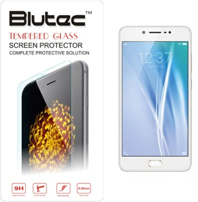 Blutec Tempered Glass Guard for Vivo V5(Pack of 1)