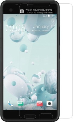Bodoma Tempered Glass Guard for HTC U Ultra pack of 2 glass(Pack of 4)