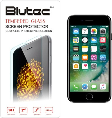 Blutec Tempered Glass Guard for Apple iPhone 7(Pack of 1)