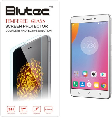 Blutec Tempered Glass Guard for Lenovo K6 Note(Pack of 1)