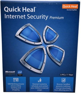 Quick heal INTERNET SECURITY 5USER 1YEAR
