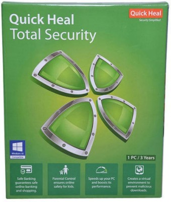 Quick heal TOTAL SECURITY 1PC 3YEAR