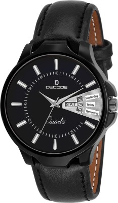 Decode 5040 BLACK  Analog Watch For Men