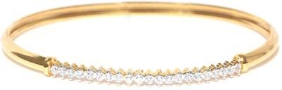 Zaveri Pearls Brass 22K Yellow Gold Kada at flipkart