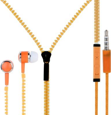 Zipper ZL0199O Wired Headset(Orange, In the Ear)