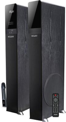 Mitashi TWR 899 BT 2.0 Ch. TOWER Bluetooth Home Audio Speaker(Black, 2.0 Channel)