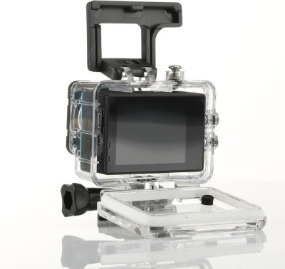 View VibeX ® 1.5 LCD Waterproof Cam Holder Sports & Action Camera(Black)