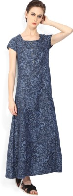 Biba Women's Maxi Blue Dress