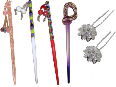 Takspin Juda Stick Hair Accessory Set(Multicolor)
