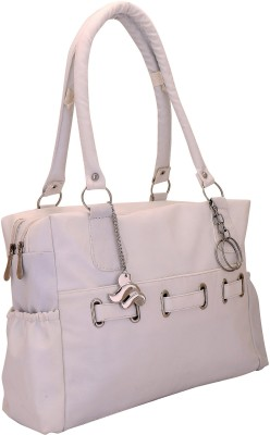 Lady bar Hand-held Bag(White)