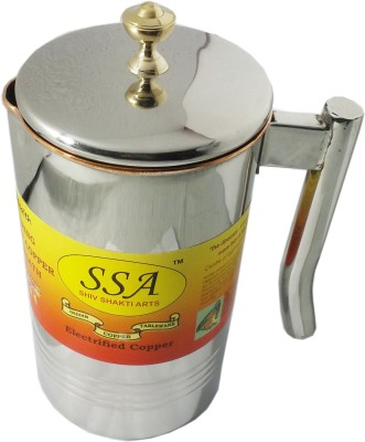 Shivshakti Arts 2 L Water S/C With Amazing Handle Jug Copper, Steel