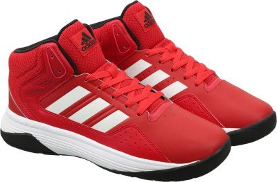 Adidas Neo CLOUDFOAM ILATION MID Sneakers(Red) at flipkart