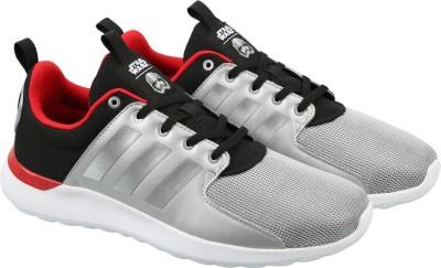 125c63eac34bd6 45% OFF on ADIDAS NEO CLOUDFOAM LITE RACER STAR WARS Sneakers For Men(Black)  on Flipkart