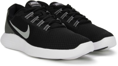 Nike LUNARCONVERGE Running Shoes For Men(Black) 1