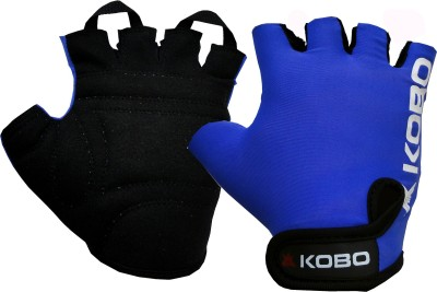 Kobo Weight Lifting SG15 Gym & Fitness Gloves (S, Blue)  available at flipkart for Rs.279